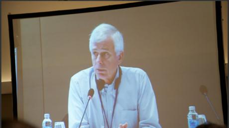 Der Vorsitzende des Europäischen Zentrums für Presse- und Medienfreiheit, Henrik Kaufholz