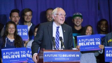 Meldest sich weiterhin zu Wort: Bernie Sanders, der Beinahe-Kandidat der Demokratischen Partei.