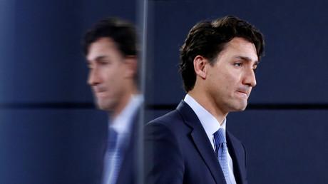 Der kanadische Premierminister Justin Trudeau während einer Konferenz in Ottawa. Kanada, 29. November, 2016