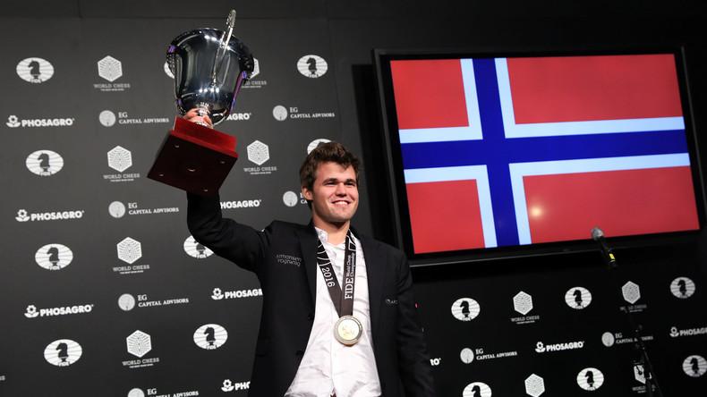 Magnus Carlsen wird zum dritten Mal Schachweltmeister