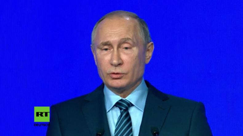 Putin zu Telefonat mit Trump: Ich möchte an diese Chance für unsere Länder glauben
