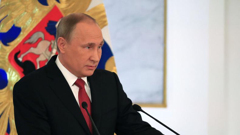 """Wladimir Putin: """"Sanktionen helfen unseren Landwirten"""""""