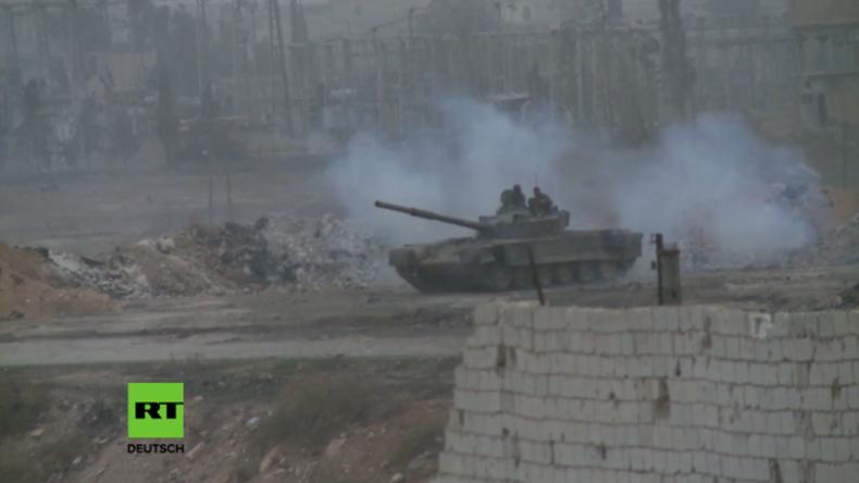 Aleppo: Syrisch Arabische Armee befreit 16 weitere Gebiete von den Dschihadisten in drei Tagen