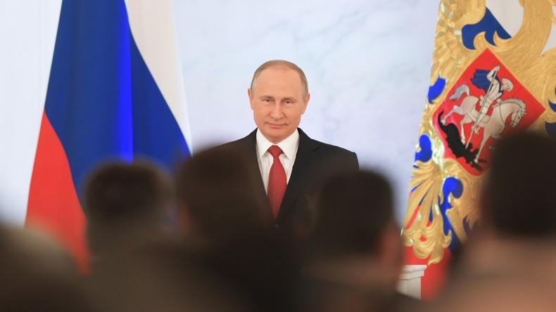"""Wladimir Putin: """"Russland sucht keine Feinde, wir brauchen Freunde"""""""