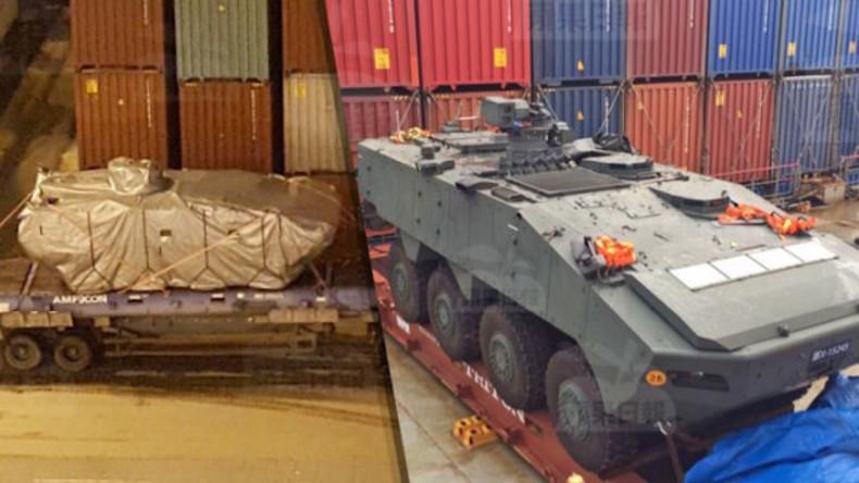 Diplomatisch-militärische Wirrnisse: China beschlagnahmt Gefechtsfahrzeuge aus Taiwan in Hongkong