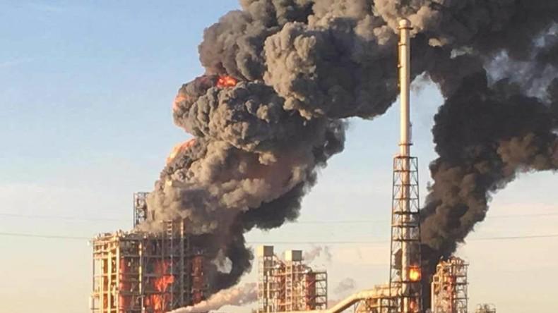 Italien: Explosion und Großbrand in Öl-Raffinerie