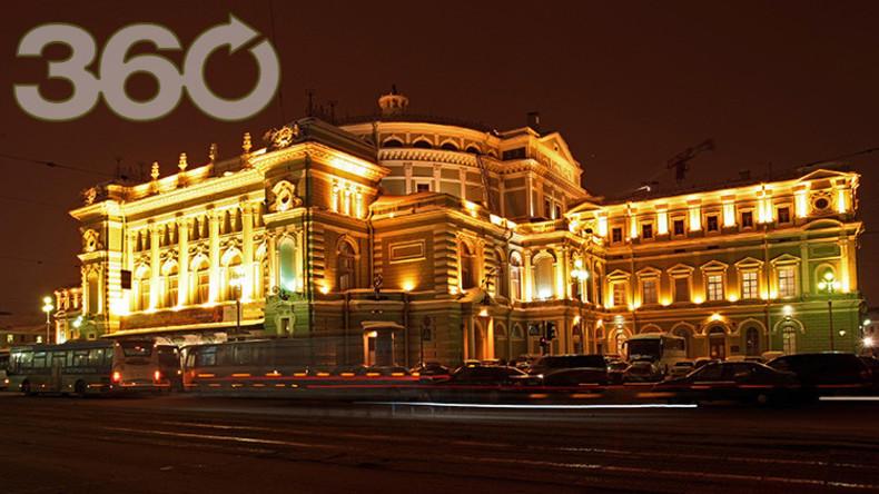 Exklusiv aus Russland: Klassisches Konzert im 360-Grad-Format