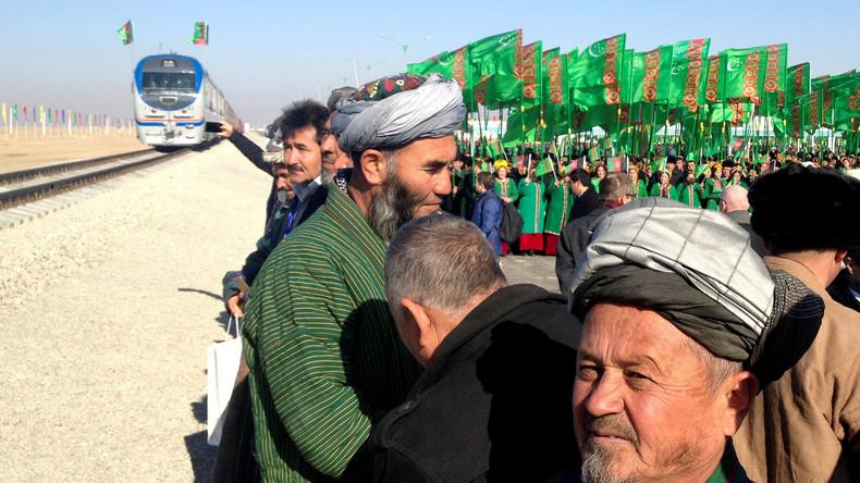 """USA besorgt wegen """"Projekt Hoffnung"""": Afghanistan und Turkmenistan eröffnen neue Zugverbindung"""