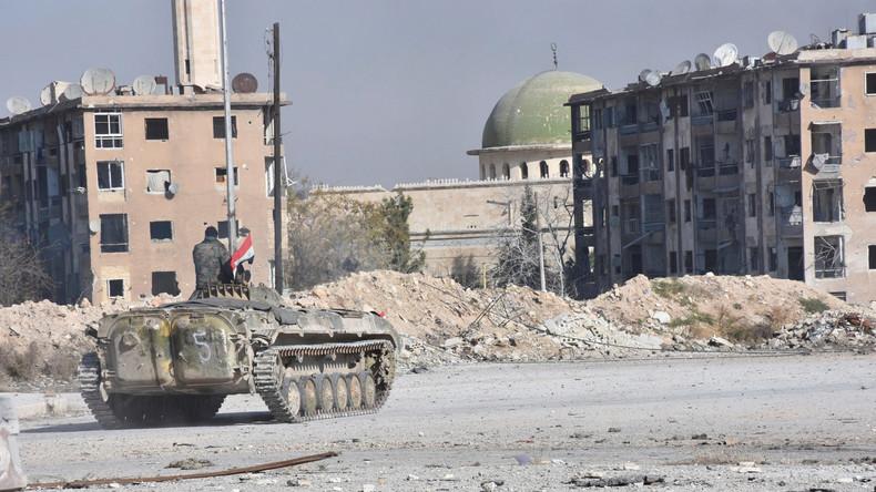 Syrische Militärs erobern Stadt Khan ash-Shih nahe Damaskus zurück