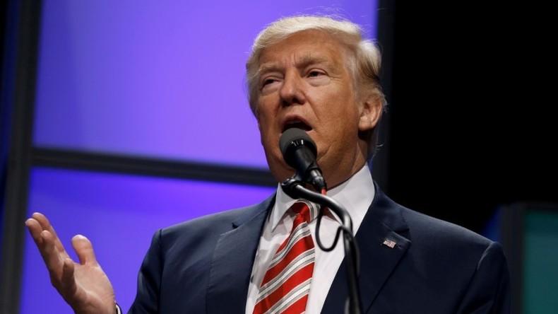 Trump: Die USA werden keine Regimes oder Regierungen stürzen