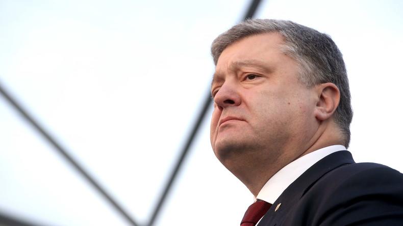 """Petro Poroschenko spürt """"Drive"""" nach Raketenübungen"""