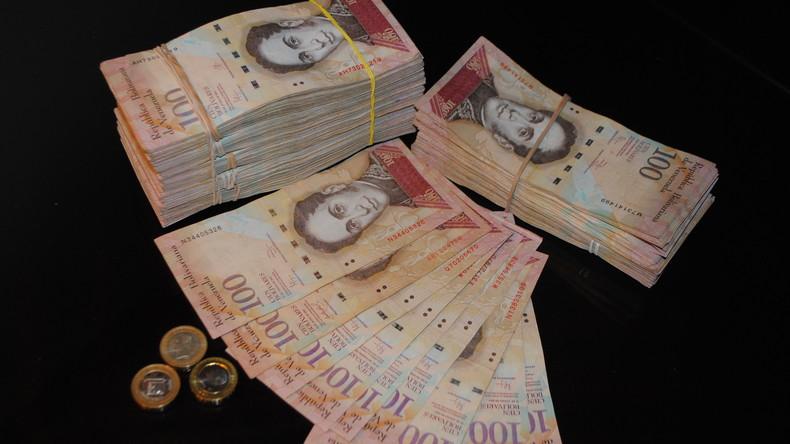 Venezuela kündigt Ausgabe neuer Geldscheine mit größerem Nennwert an