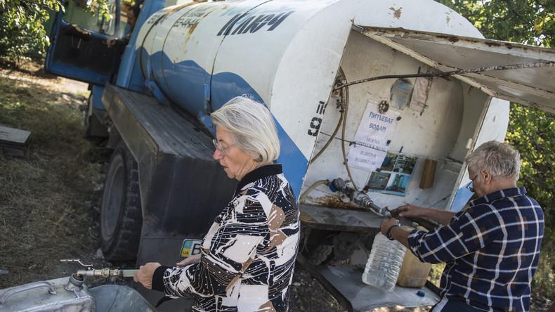 Opposition fordert Wiederaufnahme von Wasserversorgung für Donezk und Lugansk
