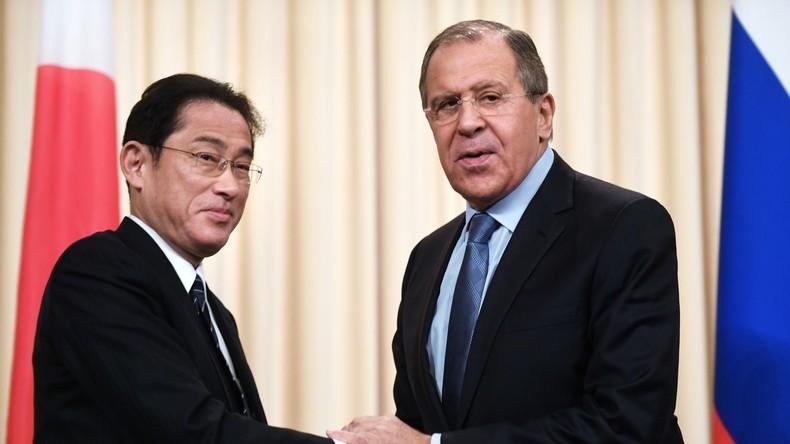 """Sergei Lawrow zu Friedensvertrag mit Japan: """"Es gibt Berührungspunkte"""""""