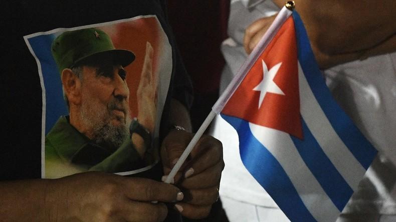Nach Fidel Castros Tod darf keine Straße auf Kuba nach ihm benannt werden