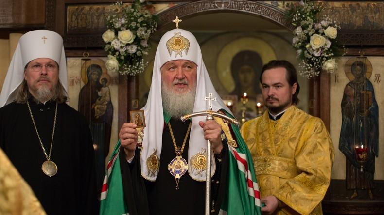 Patriarch Kyrill weiht Dreifaltigkeitskathedrale in Paris ein