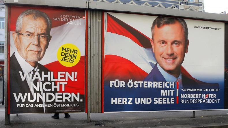 Live-Update: Links-Kandidat Van der Bellen wird neuer Präsident von Österreich