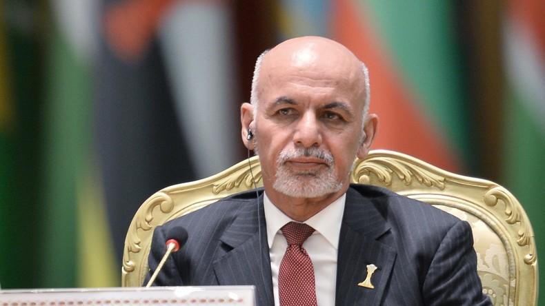 Afghanistans Präsident wirft Pakistan Unterstützung der Taliban vor