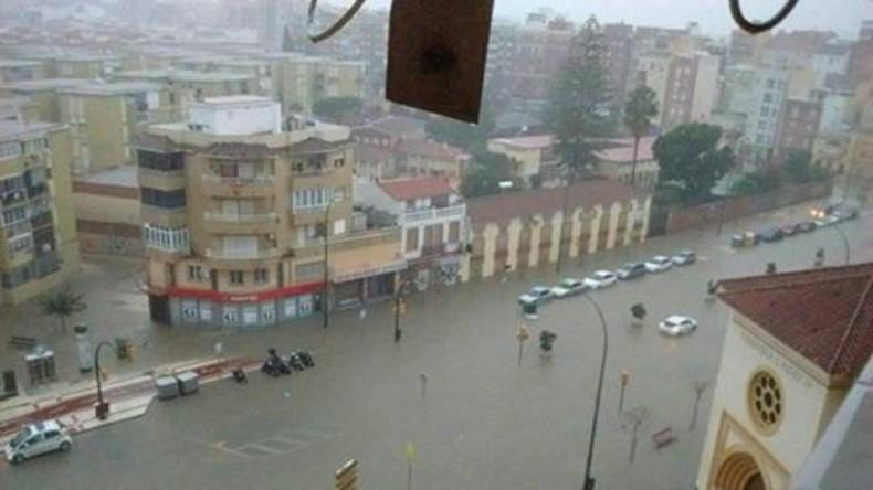 Überschwemmungen in Südspanien fordern mindestens ein Menschenleben