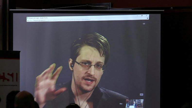 Snowden wirft dem US-Rechtssystem doppelte Moral vor