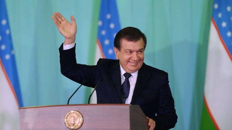 Usbekistan: Schawkat Mirsijojew wird neuer Präsident