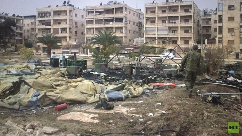Russland wirft USA, Großbritannien und Frankreich Krankenhaus-Angriff bei Aleppo vor