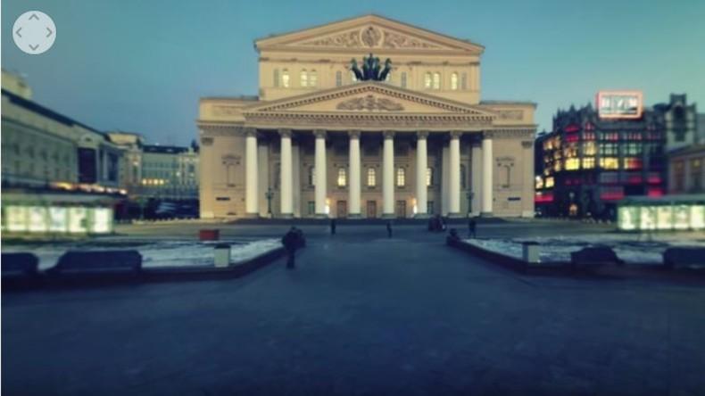 Bolschoi-Theater im 360° Format: Panorama-Besichtigung mit RT