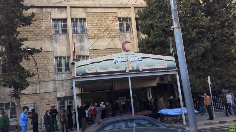 Weitere Opfer des Lazarett-Beschusses in Aleppo: Zweite Medizinerin tot, RT-Korrespondent verletzt