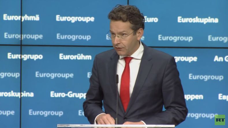 Live: Pressekonferenz nach Treffen der Eurozonen-Finanzminister [dt. Simultan-Übersetzung]