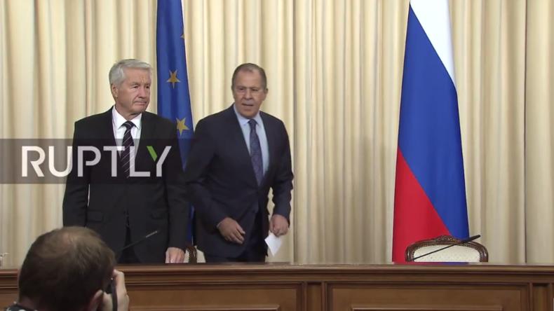 Live: Lawrow gibt gemeinsame Pressekonferenz mit Generalsekretär des Europarates