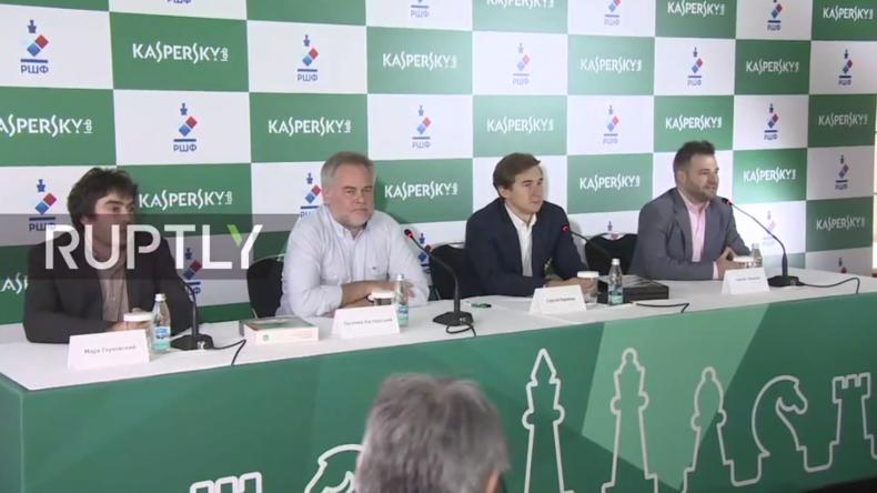 Live: Karjakin spricht mit Presse nach Niederlage bei Weltmeisterschaft im Schach