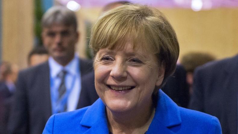 Angela Merkel zum neunten Mal als CDU-Chefin wiedergewählt