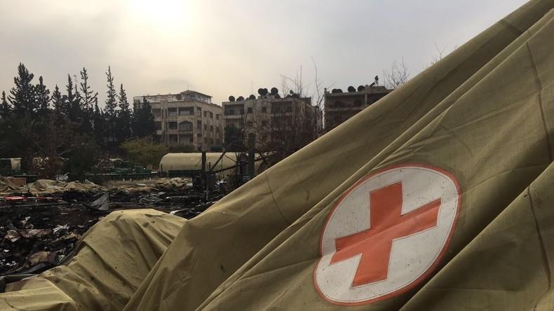 """Angriff auf Ärzte in Aleppo: """"Verantwortlich sind auch die, die diese Leute bewaffnet haben"""""""