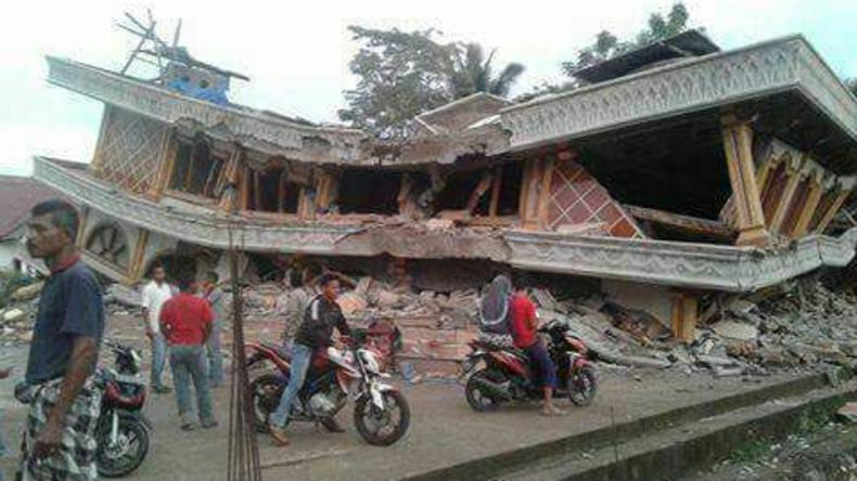 Starkes Erdbeben in Indonesien: Mindestens 90 Todesopfer