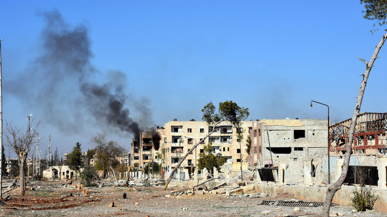 Russischer Militärberater stirbt nach Beschuss Aleppos durch Kämpfer