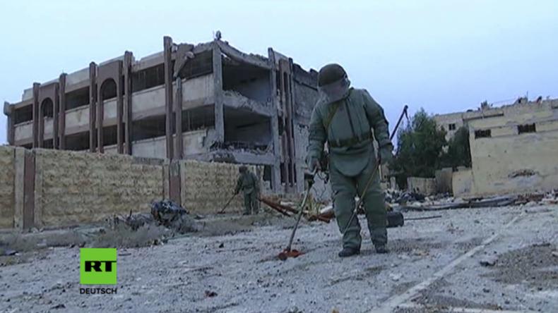 Ende in Sicht in Aleppo: Über 70 Prozent zurückerobert - Russland entmint die befreiten Gebiete