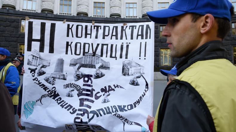 """Europäischer Rechnungshof: """"Die Ukraine bleibt das korrupteste Land in Europa"""""""