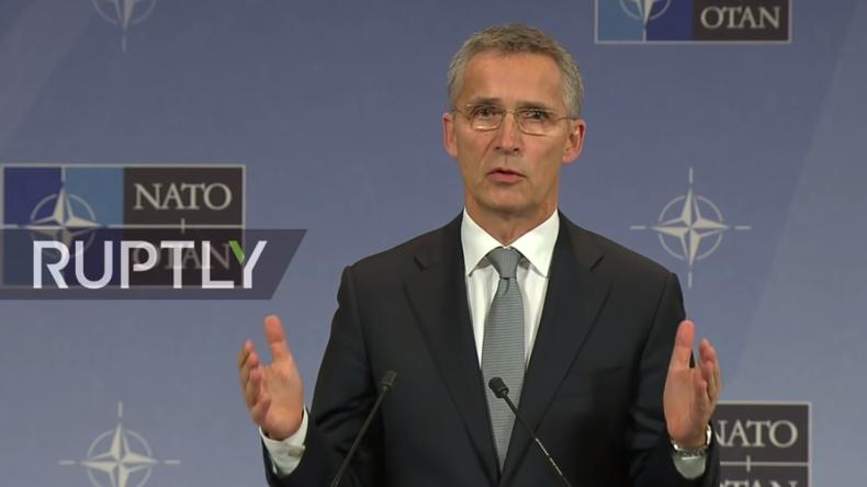 Live: NATO-Generalsekretär Stoltenberg gibt nach Außenminister-Treffen Pressekonferenz