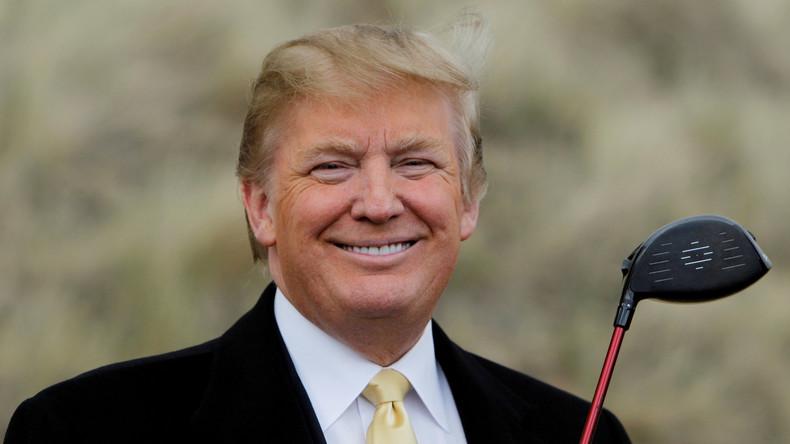 Time-Magazin wählt Präsidenten der Gespaltenen Staaten von Amerika zum Menschen des Jahres