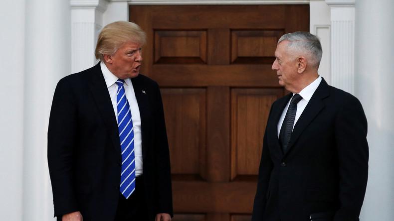 "Donald Trump nominiert den ""Verrückten Hund"" Mattis zum neuen Pentagon-Chef"