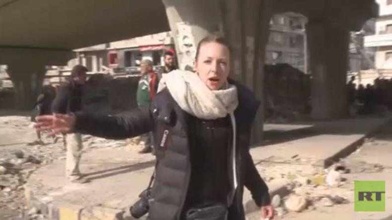 Exklusiv: RT erreicht als erstes TV-Team die zurückeroberte Altstadt von Aleppo