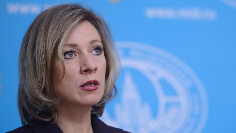 """Sacharowa: Nach Amtsantritt neuer US-Administration wird es keinen """"Triumph der Freundschaft"""" geben"""