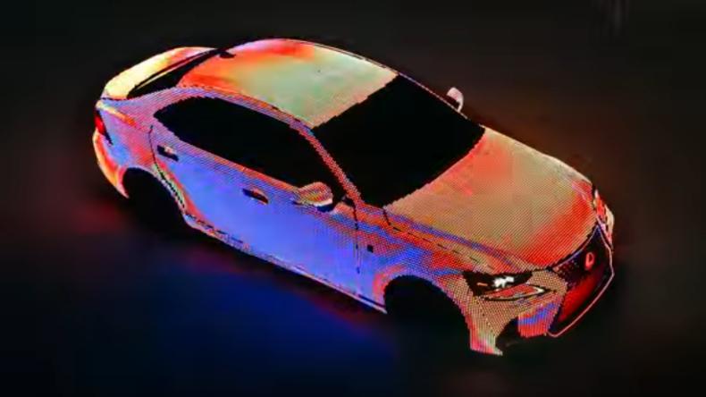 Lexus präsentiert farbenwechselndes Chamäleon-Auto