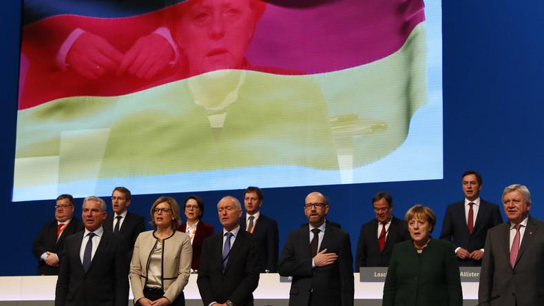 """""""Deutschland als Schicksalsgemeinschaft"""" – CDU-Parteitag guttenbergt bei der AfD"""