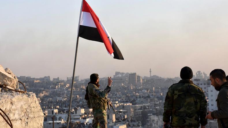 Syrien: Armee befreit 2/3 Aleppos von Rebellen - USA unzufrieden über Niederlage von Extremisten