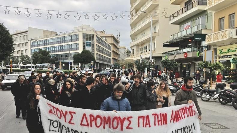 Griechen protestieren landesweit gegen Sparpolitik