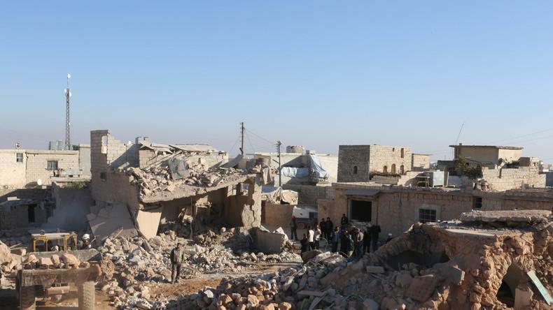 Russische Experten entminen sechs Hektar Wohnfläche in Ost-Aleppo