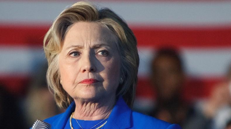"Hillary Clinton ruft zum Kampf gegen ""Fake-News-Epidemie"" auf"