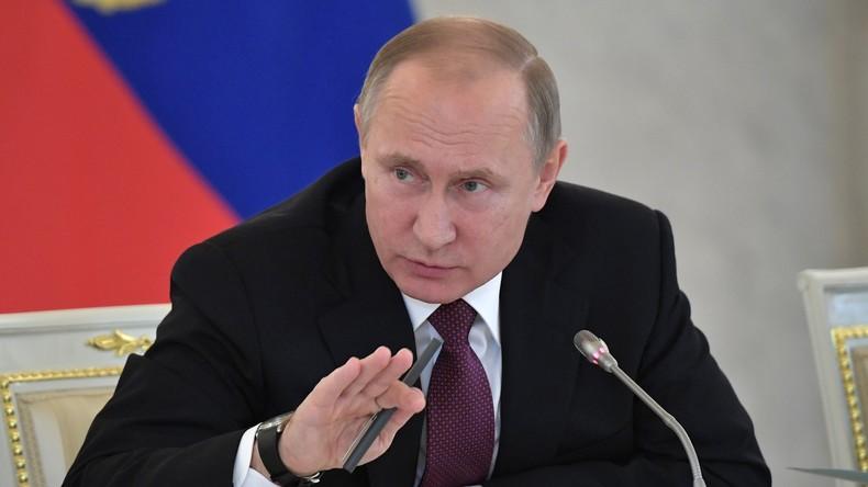 Putin verurteilt Schweigen internationaler Organisationen zu Angriff auf russisches Ärzteteam