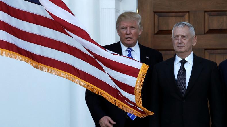 Tritt Trump mit der Wahl von Mattis als Pentagon-Chef in Obamas Fußstapfen?
